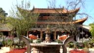 Bamboo temple at Kunming, China video