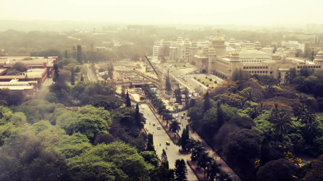 bangalore city time laps video