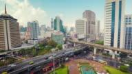 Bangkok aerial view video