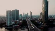 Bangkok at dusk video