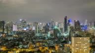 Bangkok at night video