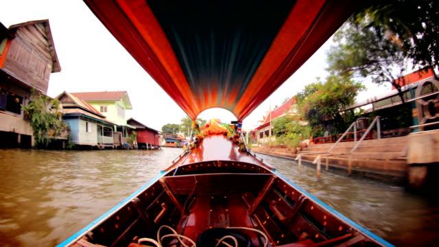Bangkok Canal Boat, Thailand video