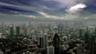 Bangkok city aerial video