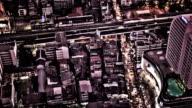 Bangkok city aerial view video
