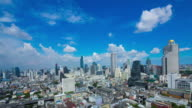 Bangkok city and modern building video