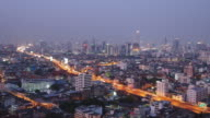 Bangkok city at Night video
