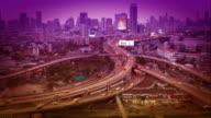 Bangkok city Day to night video
