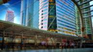 Bangkok city view video