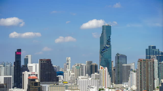 Bangkok cityscape video