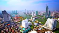 Bangkok in morning light video