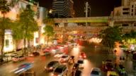 Bangkok Night Life Time Lapse video