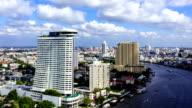 Bangkok skyline Timelapse video