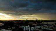 Bangkok sunset bridge video