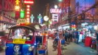 Bangkok Thailand Chinatown video