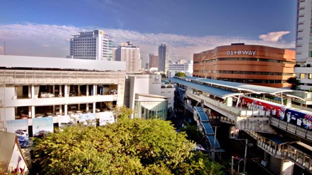 Bangkok. Thailand. sky train video