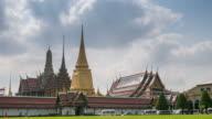 Bangkok Thailand time-lapse of Grand Palace Wat Phra Kaew , 4k(UHD) video