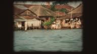 Bangkok, Thailand - Vintage Super 8 video