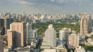 Bangkok View of Business area Cityscape video