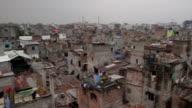 Bangladesh Refugee camp pan across video