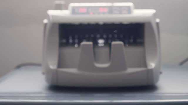 Bank Money Counting Machine video