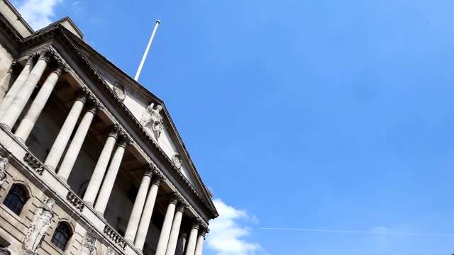 Bank of England, time lapse. video