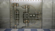 Bank Vault Opening HD Video video
