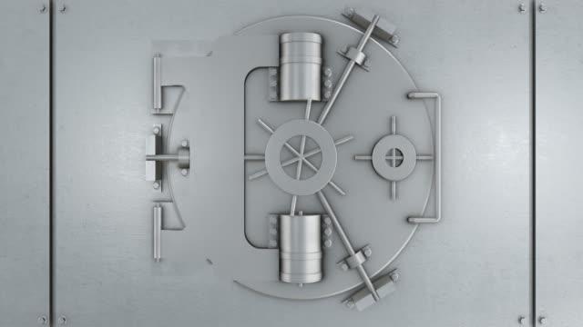 Bank Vaulted Door | 4K video