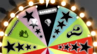 'Bankrupt', 'Success' and 'Fresh Start' Spinning Wheel Slots HD, SD video