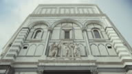 Baptistery in Piazza del Duomo of Florence video