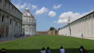 Baptistery of Pisa in Piazza dei Miracoli video