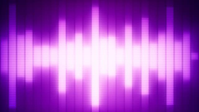 EQ Bar Waveform PURPLE video