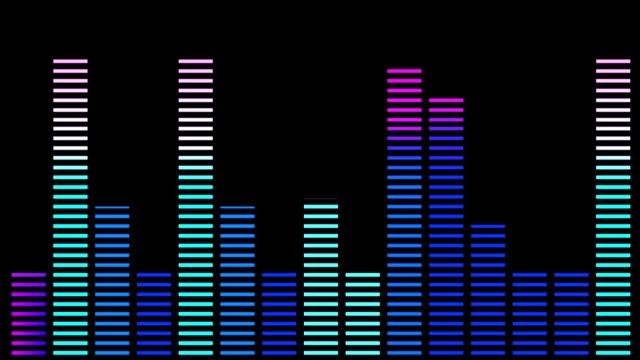 EQ Bar Waveform video