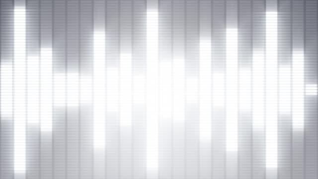 EQ Bar Waveform WHITE video