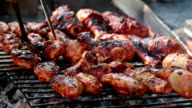 Barbecue Chicken Wings and Legs video