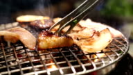 Barbecue grill Korea style video
