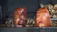 Barbecued suckling pig video