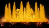 Barcelona Magic Fountain Yellow (HD) video