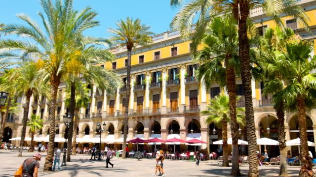 Barcelona Plaza Real video