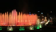 Barcelona's Magic Fountain video