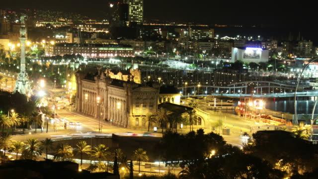 Barcelona's port time lapse video