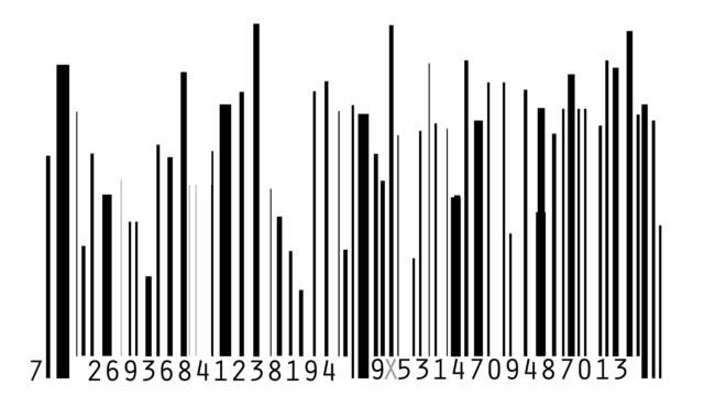 Barcode VU Meter video