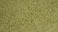 Barley seed in machine video