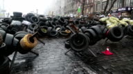 Barricades on the Khreshchatyk street video