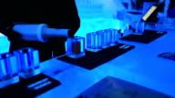 HD: Bartender mixing beverage for  drink video