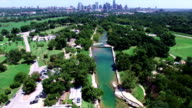 Barton Springs Pool a Natural Cold Spring Relaxing Swimming Pool of Austin Texas video