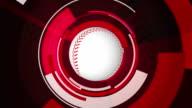 Baseball Graphic Animation video