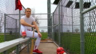Baseball Player video