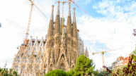 Basilica and Expiatory Church Sagrada Familia, Barcelona video