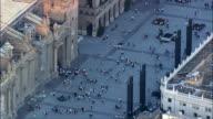 Basilica Of Our Lady Of Pilar  - Aerial View - Aragon, Saragossa, Zaragoza, Spain video