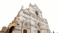 Basilica of Santa Croce in Florence, Italy video